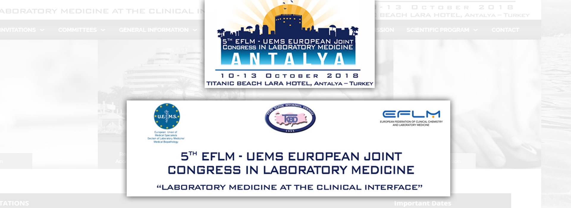 5th EFLM-UEMS EUROPEAN JOINT CONGRESS IN LABORATORY MEDICINE